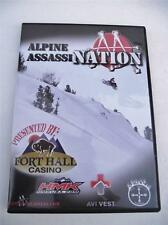 Alpine Assassination Assassins DVD Extreme Snowmobiling Snowmobile Back Country