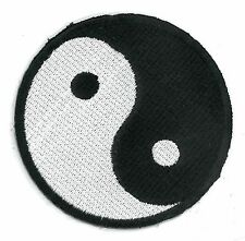 YIN-YANG*Chinese Taoism* iron on/sew on Embroidered Patch Applique (US Seller)