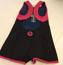 Roxy Out The Back Shorty Wetsuit Neoprene Swimsuit Surfsuit Sz 6 $98