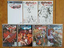 Harley Quinn (Vol 2) Blank 0, 4th Print #1, 3rd Print 2 & 3, 1st Print 4 5 6 NM