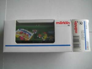 Marklin H0 44177 DB Danone Fruchtzwerge (Fruit Gnomes) Box Car - NIB