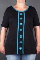 ** Happy Size Fairtrade T-Shirts Nepalaya Handarbeit Größe 44/46 46/48 48/50 **