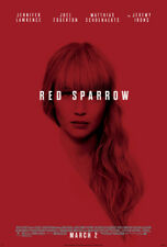 RED SPARROW MOVIE POSTER 2 Sided ORIGINAL FINAL 27x40 JENNIFER LAWRENCE
