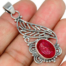Ruby 925 Sterling Silver Pendant Jewelry AP181554 350P
