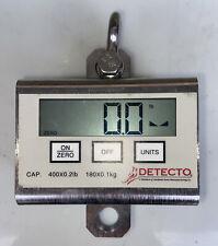 New listing Detecto scale Model# Pl400, hanging scale, crane, forklift, scrap, hospital 400#