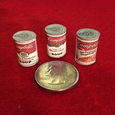 "1:6 Handmade miniature for 11""-12"" size dolls - Canned food #8"