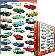 American Cars 1000 piece jigsaw puzzle  680mm x 490mm (pz)