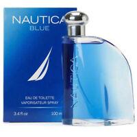 NAUTICA BLUE  * Cologne for Men * 3.4 oz Eau de Toilette* BRAND NEW IN BOX