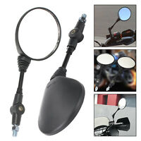 11cm-Long Handle  Universal Motorcycle Rearview Mirror Folding Motorcycle Mirror