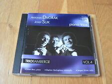 Trio Bamberg vol. 4 - Dvorak, Suk : Piano Trios - CD Thorofon