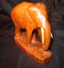 Elefant Holz   60er Jahre    ca. 10 cm x 10 cm