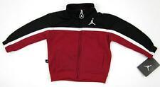 NEW! Nike Jordan Infant Warm Up Jacket Black Red White Sz 6/9 Months