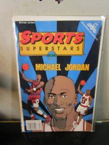 MICHAEL JORDAN SPORTS SUPERSTARS COMIC BOOK (1992) BULLS BAGGED BOARDED