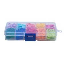 120PCS Amazing Knitting Crochet Locking Stitch Needle Clip Markers Holder Tool