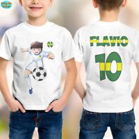 Le Ragazze Estate Divertente Stampa T Shirt//Top ~ Unicorno ballerino Tropicale ~ 2-6 anni
