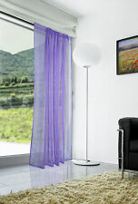 New Spectrum Voile Lilac Slot Head With Tape Single Sheer Panel W150 x L230cm