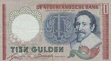 Olanda 10 gulden 1953 BB  VF    pick 85 rif 4062