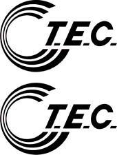 T.E.C Caravane 2 pièces Kit Caravane autocollants Motorhome couleurs au choix