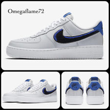 Nike Air Force 1 07 LV8 3 Removable Swoosh Racer Blue