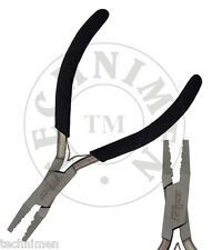 GERMAN DUAL CRIMP CRIMPER CRIMPING TOOL TIGER TAIL BEADING MODEL MAKING PLIERS