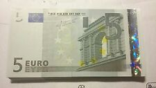 European Union 5 Euros Trichet U Prefix L027J4 Banque de FRANCE 2002 8u GEM UNC