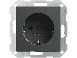 Gira E2 System 55 anthrazit Steckdosen Schalter Wippe Rahmen nach Wahl antrazit!