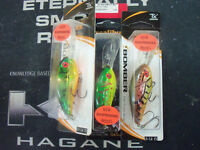 Excalibur Bill Dance Suspending Fat Free Shad BSD6F Made in North America!!