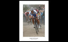 Paris-Roubaix Cycling Classic OVER THE PAVE Poster Print by Graham Watson