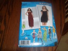 New Uncut Simplicity Sewing pattern 2622 Size 11/12-15/16 Juniors Dress or Tunic