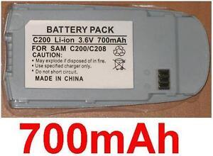 Batterie 700mAh Für SAMSUNG SGH-C200,SGH-C208,SGH-C207,SGH-C230