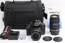 CANON EOS 450D Rebel XSi Digital SLR w/ 18-55mm 55-250mm IS JAPAN 210078