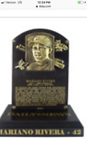 MARIANO RIVERA HAll OF FAME REPLICA PLAQUE SGA 8-17-19