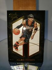 2015-16 Black Gold Shadow Box HOF! Allen Iverson