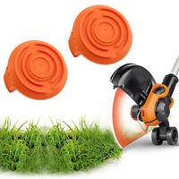 2pc Spool Cap Cover Replace for Worx GT Cordless String Trimmer WA6531 WG150 NEW