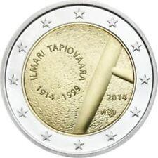 Finland   2014  2 euro commemo Tapiovaara Ilmari   UNC uit de rol !!!