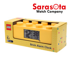Lego 9002144 Yellow Brick Alarm Digital LCD Clock Age 6+