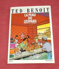 LA PEAU DU LEOPARD TED BENOIT TIRAGE DE TETE 450EX N/S + SERIGRAPHIE