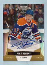 ALES HEMSKY 2010/11 CERTIFIED MIRROR GOLD AUTOGRAPH AUTO /25