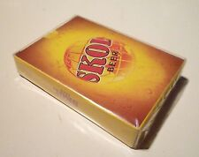 Malaysia Playing Cards Skol Lager Beer Yellow design 2012 Sealed Carlsberg