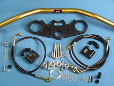 ABM Superbike Lenker Umbau - Kit für APRILIA RSV 1000 (Mille)  Fz-Typ ME und RP