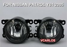 Fog lamp For NISSAN PATROL Y61 2005 ~ON / 1Pair w/Bulbs + Switch + Wire
