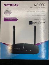 Netgear AC1000 Smart WiFi Router with External Antennas  Black (R6080-100NAS) B5