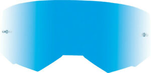 Fly Racing Kids Zone/Focus Goggle Lens | Sky Blue Mirror/Smoke (with Posts)