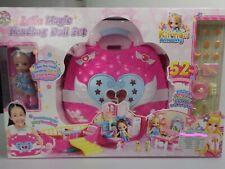 Lelia tragbares Puppehaus Handtasche Spielset Geschenk ab 3 Jahre mit Puppe