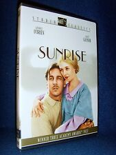 Sunrise (DVD, 2002) Brand New Sealed•Out-of-Print•1929 Best Picture•Janet Gaynor