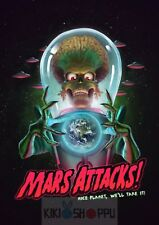 Poster A3 Mars Attack Nice Planet We Will Take It Pelicula Film Cartel Decor 01