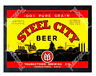 Historic Steel city Beer, Youngstown, Ohio Beer Ad Postcard