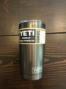 NEW YETI Rambler 20 oz Tumbler with MagSlider Lid Graphite