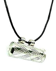 Locket Pendant Vial Stash Secret Chandi Tabiz Taweez Protection Cord Necklace
