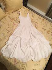 Derek Heart Beautiful Summer White Wedding Dress